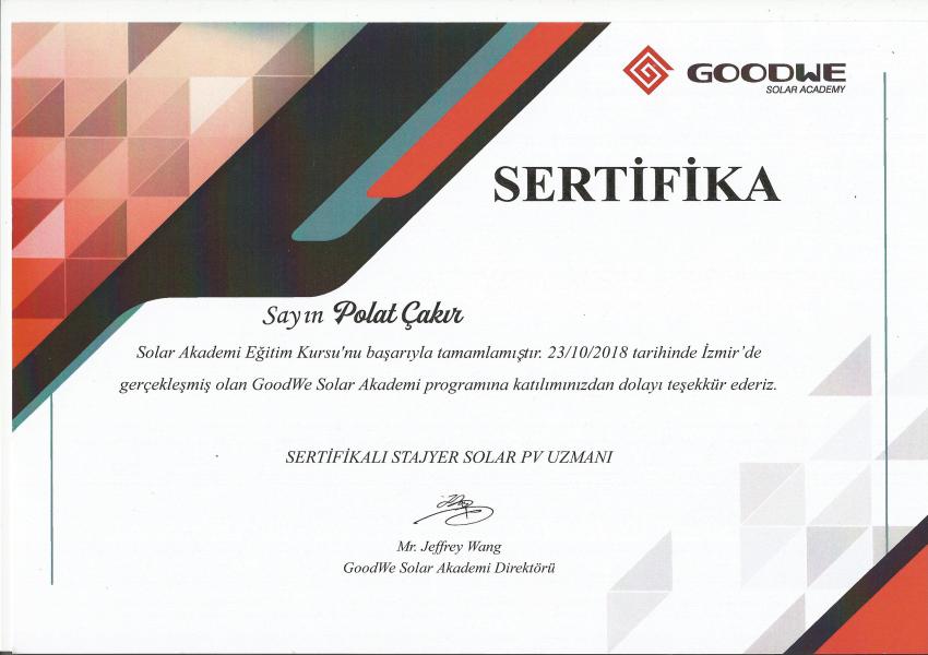 goodwe-sertifika