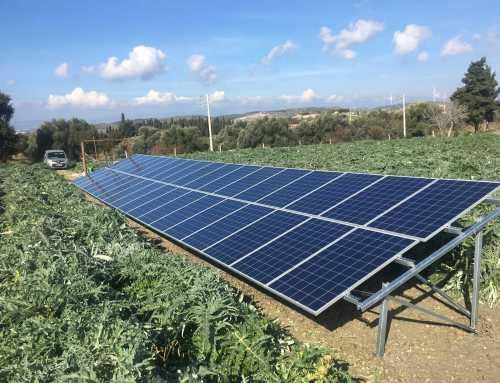 7.5HP Güneş Enerjili Sulama Sistemi