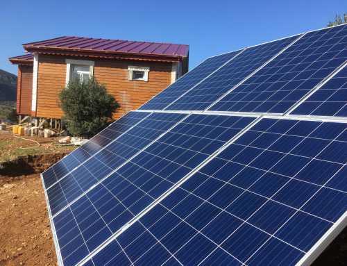 2.24Kw Akülü Güneş Enerji Sistemi – Datça