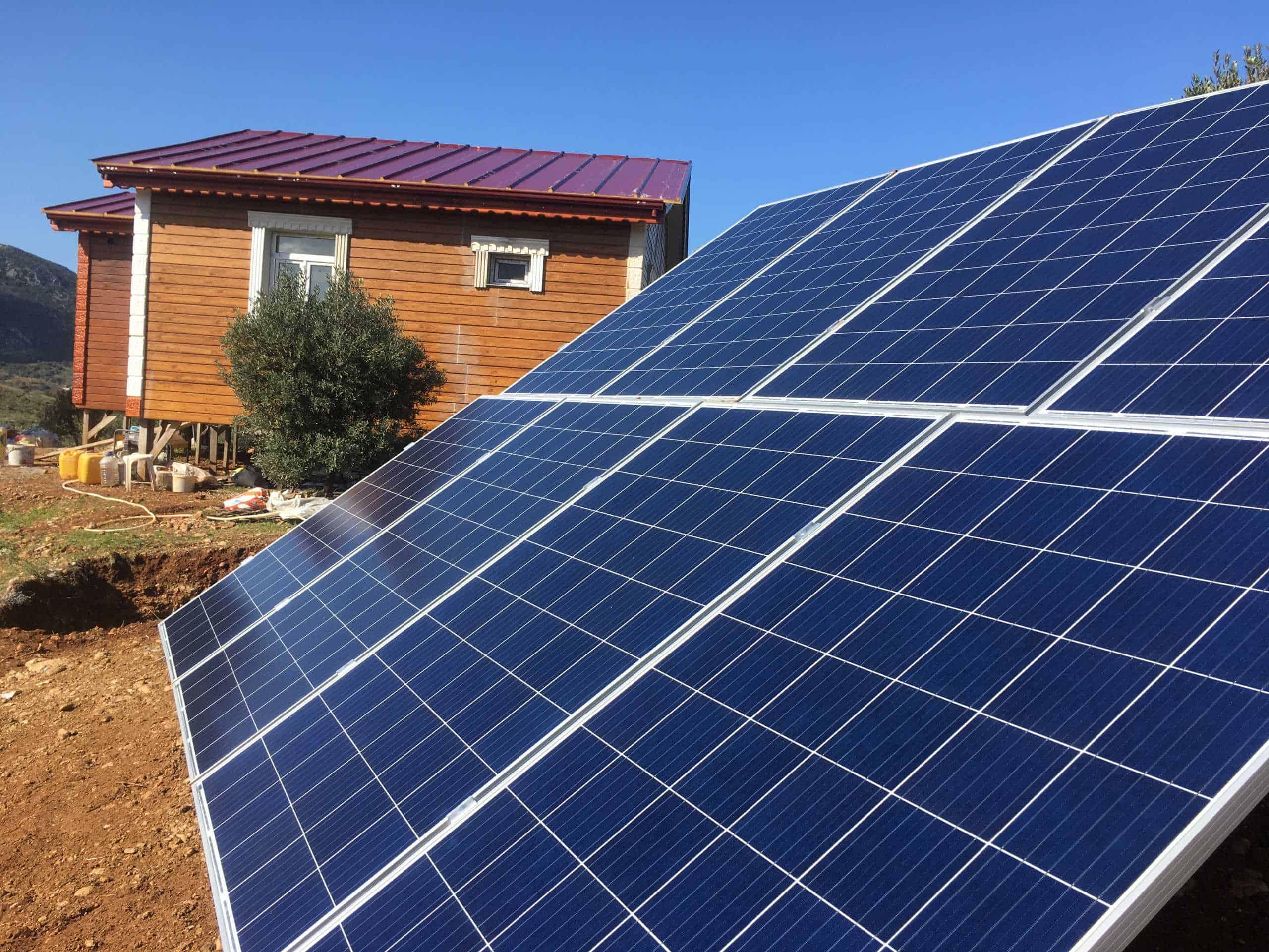 datça güneş enerjisi