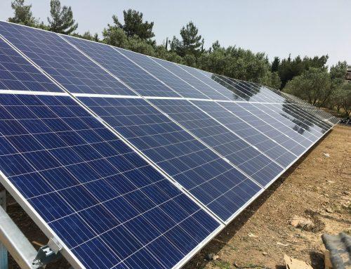 10HP Güneş Enerjili Sulama Sistemi İzmir / Buca