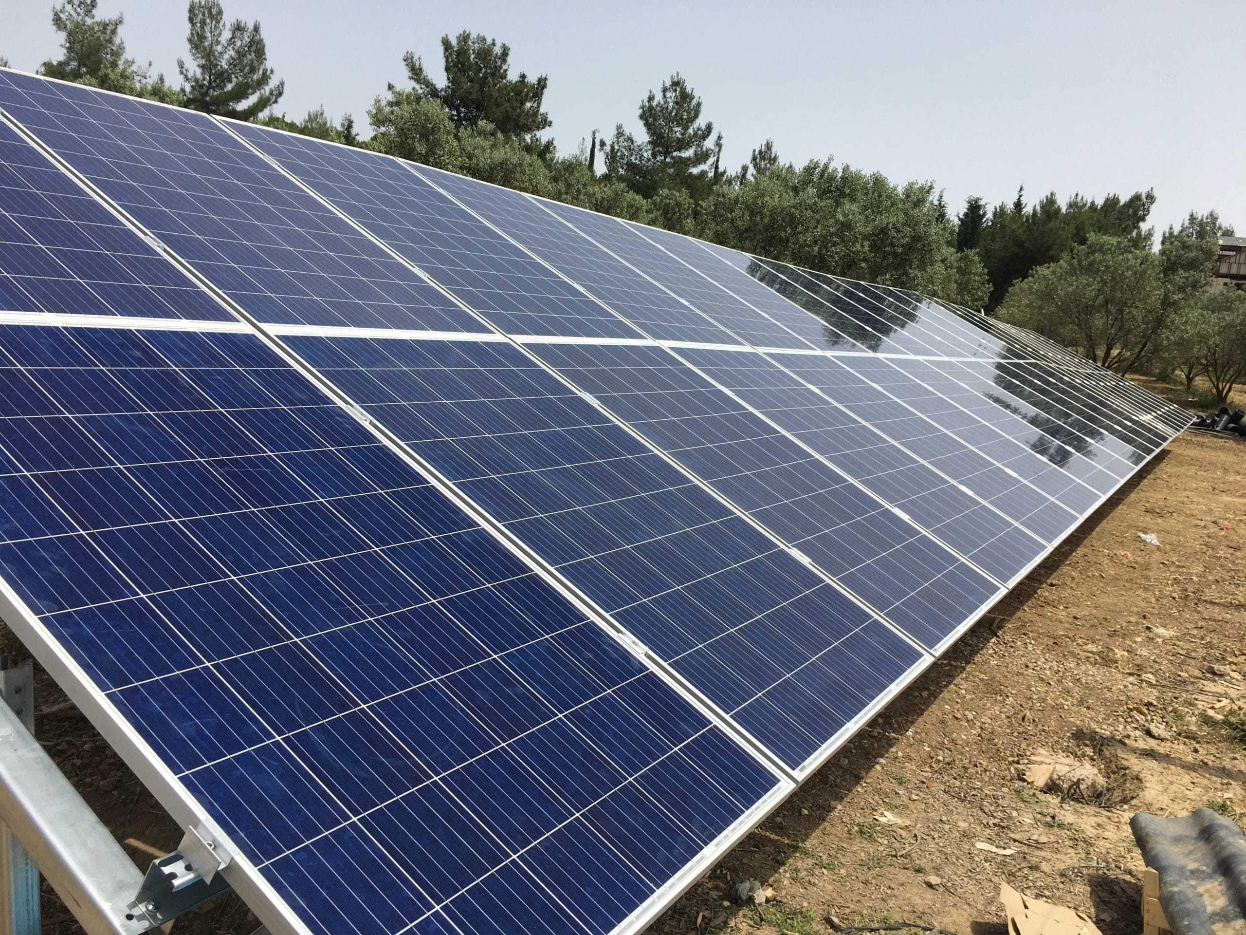 10HP Güneş Enerjili Sulama Sistemi İzmir - Buca